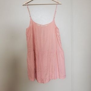 Zingara Pink Romper With Details on Back